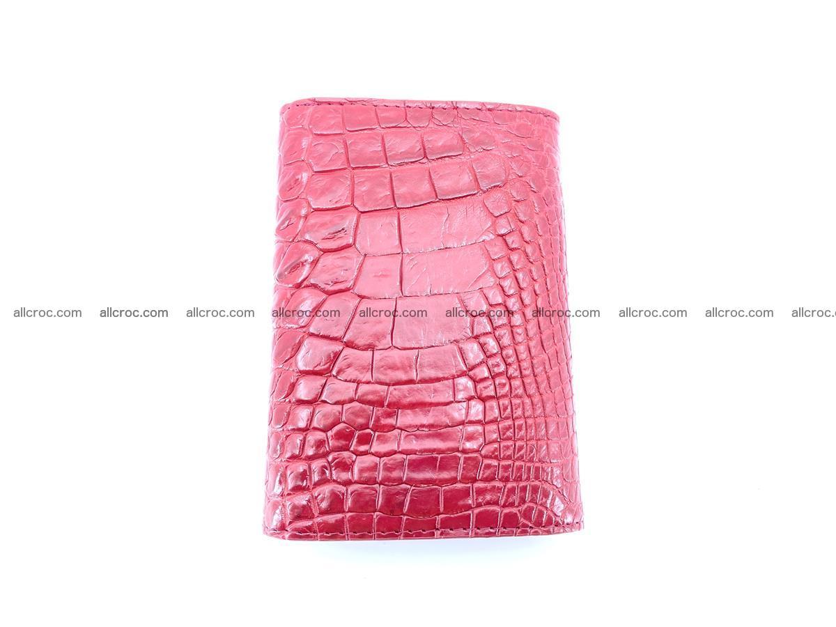 Genuine Siamese crocodile skin wallet for women 408 Foto 2
