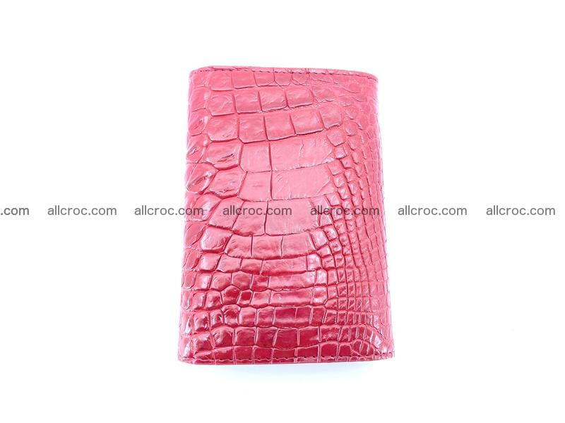 Genuine Siamese crocodile skin wallet for women 408