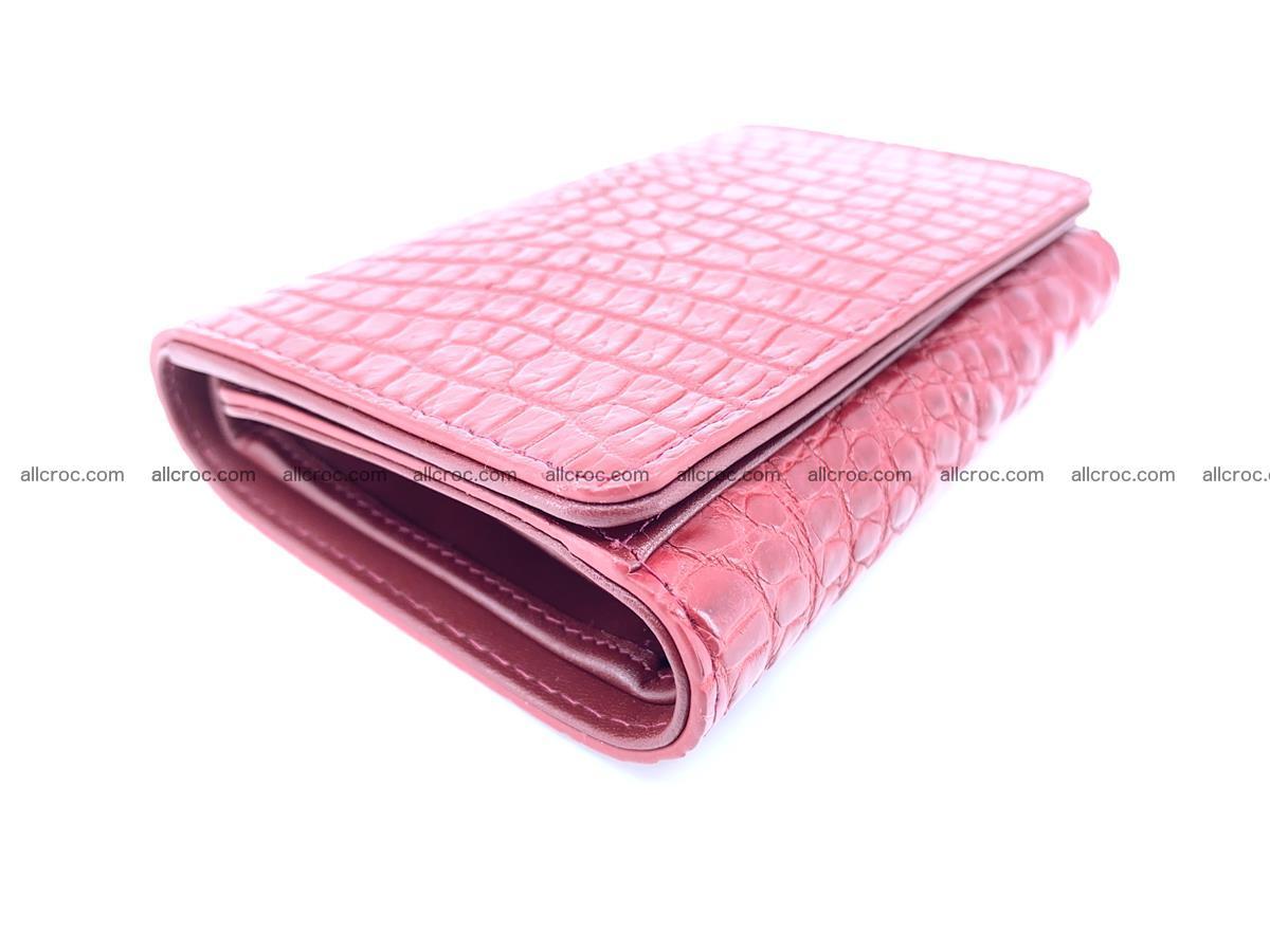 Genuine Siamese crocodile skin wallet for women 408 Foto 4
