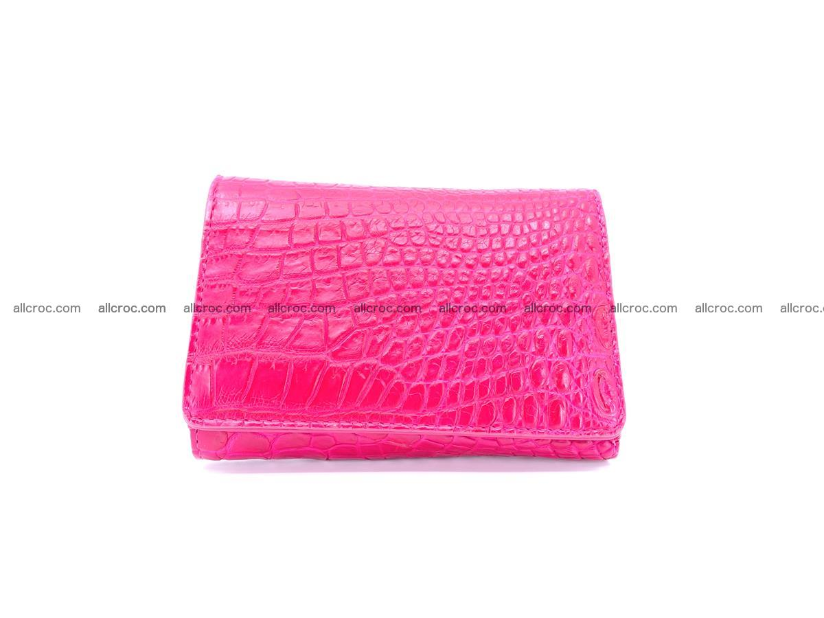 Genuine Siamese crocodile skin wallet for women 407 Foto 0
