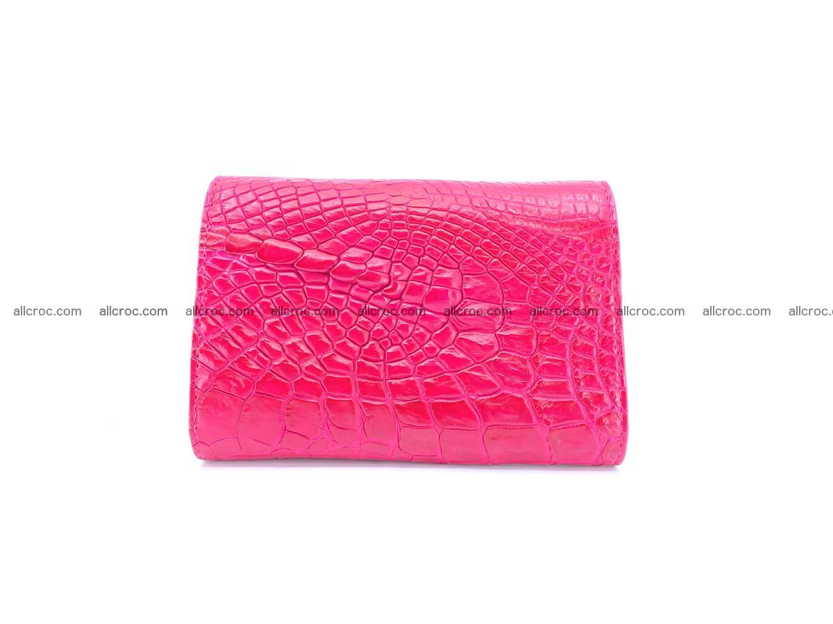Genuine Siamese crocodile skin wallet for women 407 Foto 1