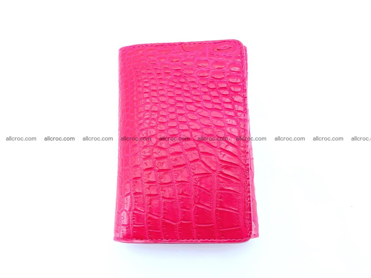 Genuine Siamese crocodile skin wallet for women 407 Foto 2