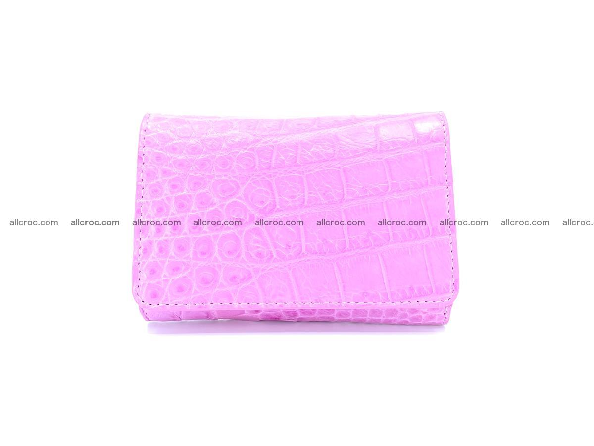Genuine Siamese crocodile skin wallet for women 406 Foto 0