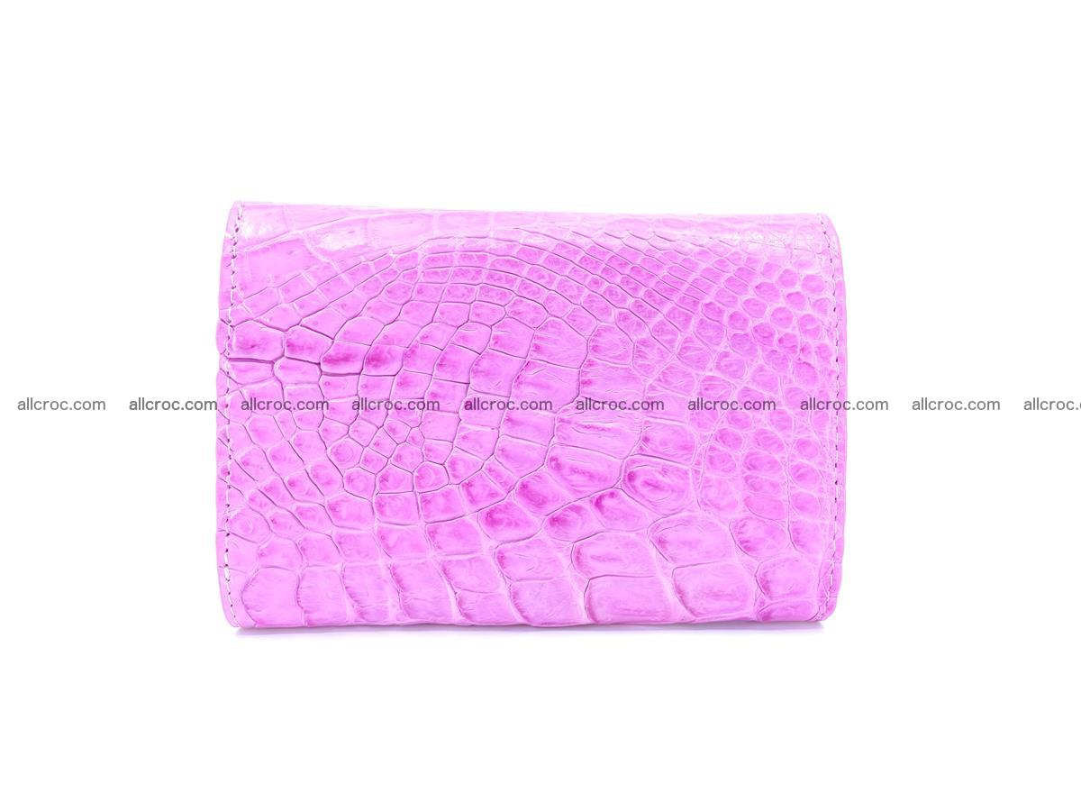 Genuine Siamese crocodile skin wallet for women 406 Foto 1