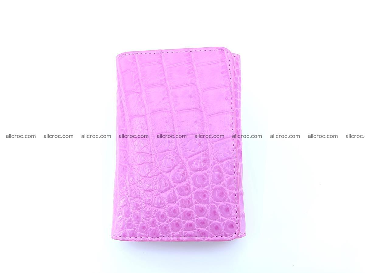 Genuine Siamese crocodile skin wallet for women 406 Foto 2
