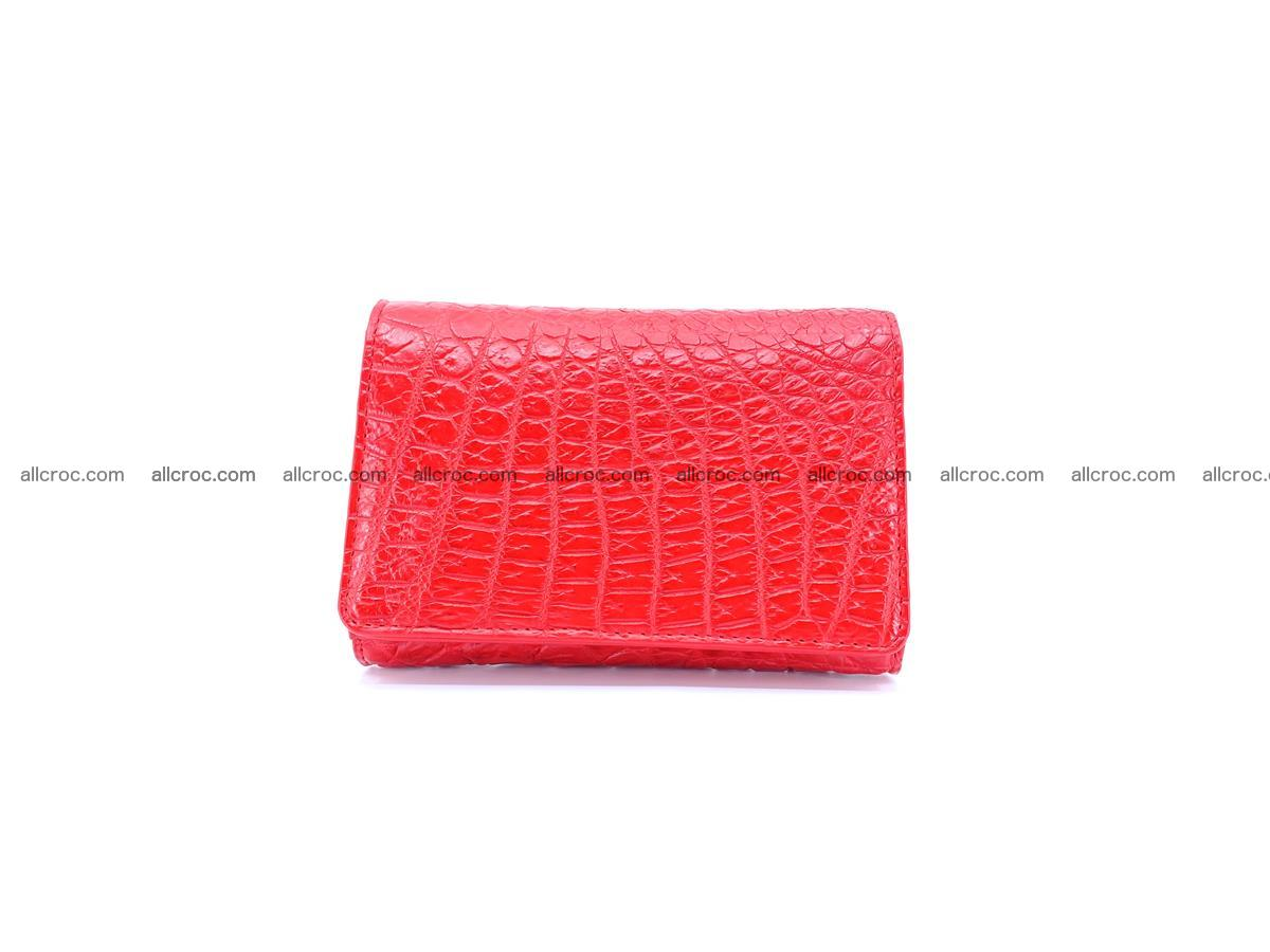 Genuine Siamese crocodile skin wallet for women 418 Foto 0