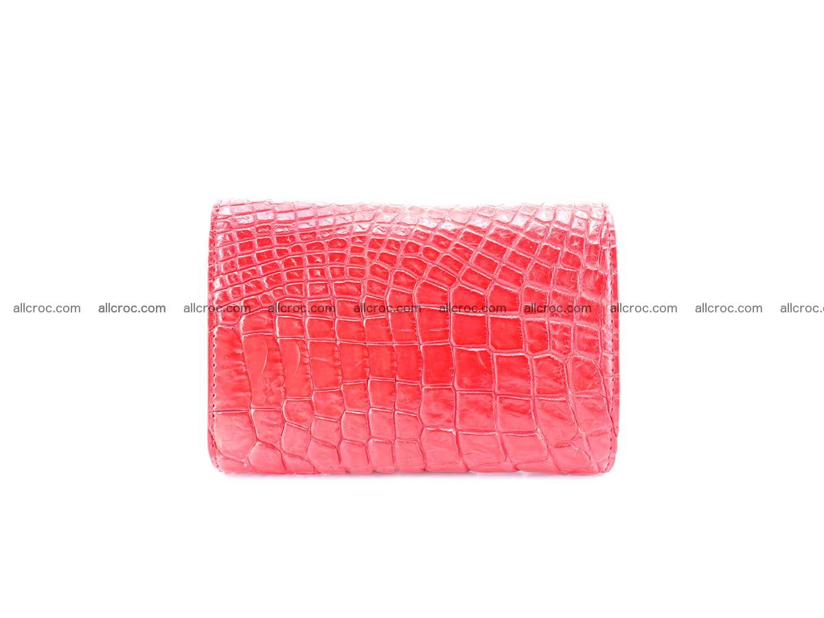 Genuine Siamese crocodile skin wallet for women 418 Foto 1