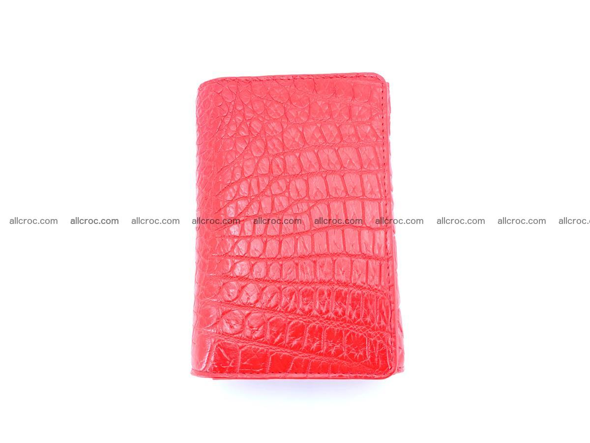 Genuine Siamese crocodile skin wallet for women 418 Foto 2