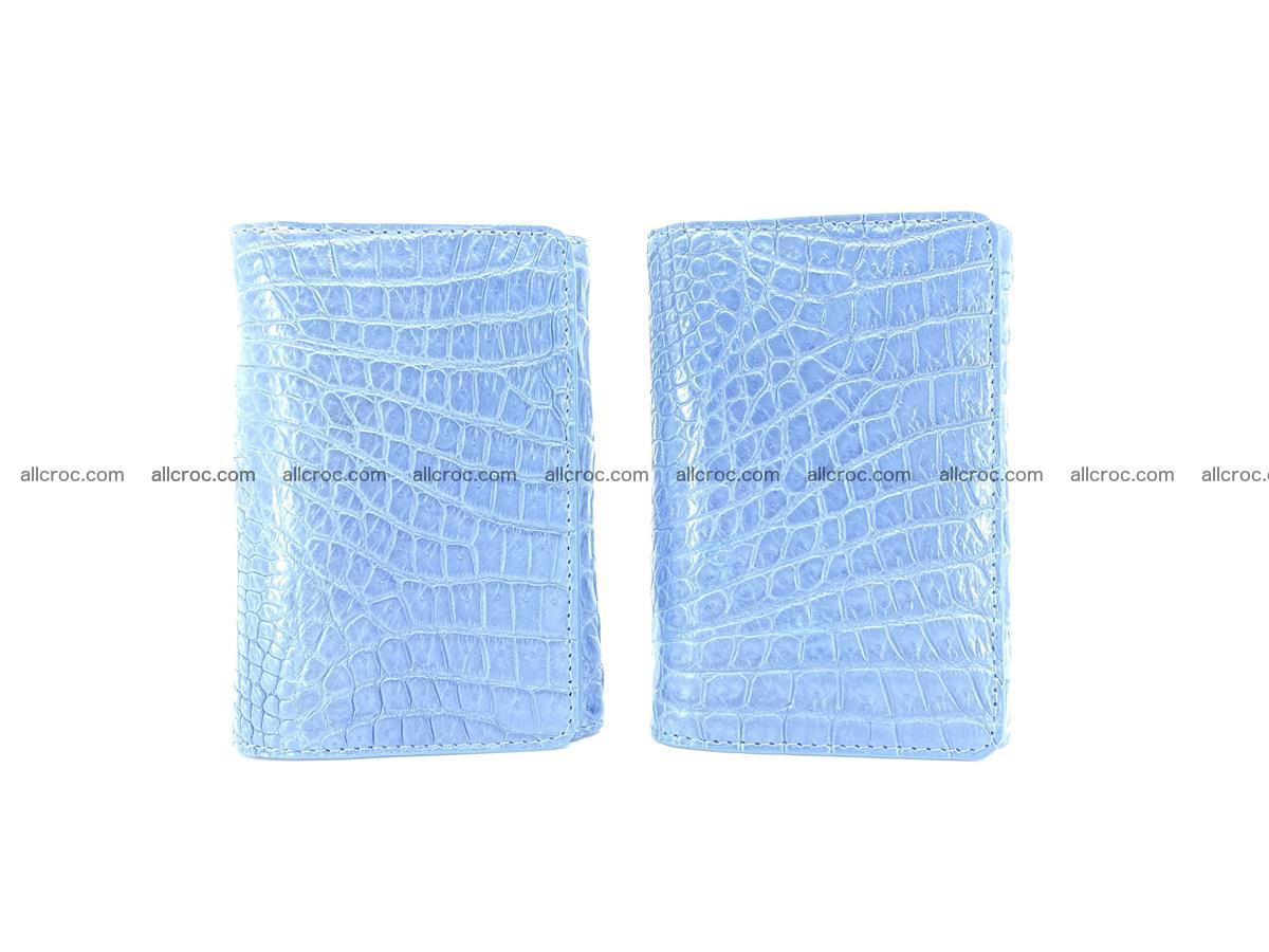 Genuine Siamese crocodile skin wallet for women 414 Foto 9