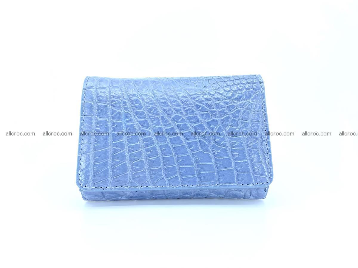 Genuine Siamese crocodile skin wallet for women 414 Foto 0