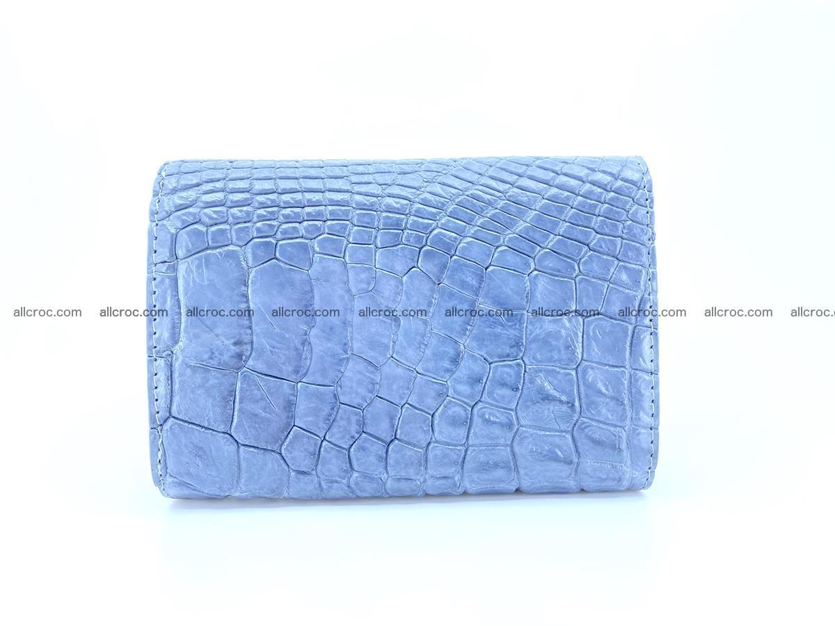 Genuine Siamese crocodile skin wallet for women 414 Foto 1