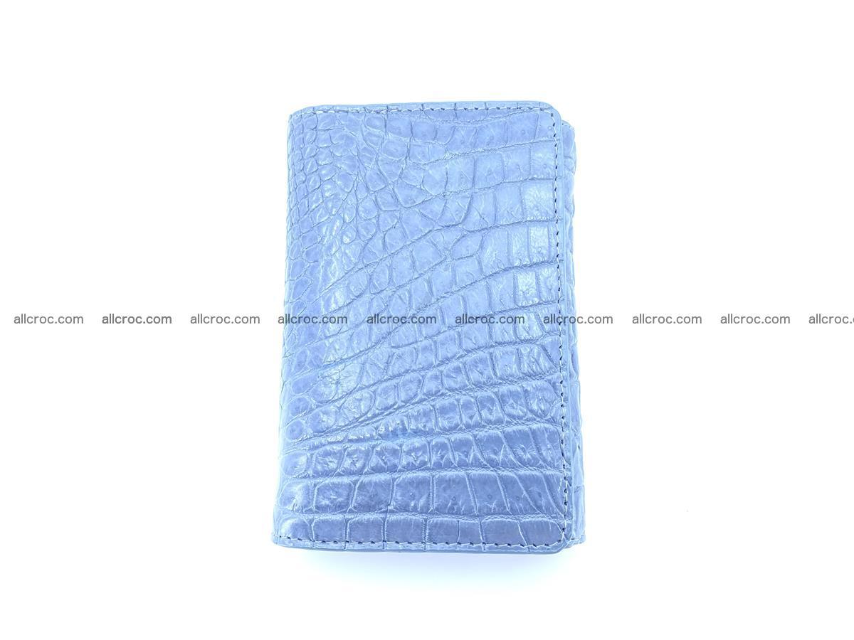 Genuine Siamese crocodile skin wallet for women 414 Foto 2