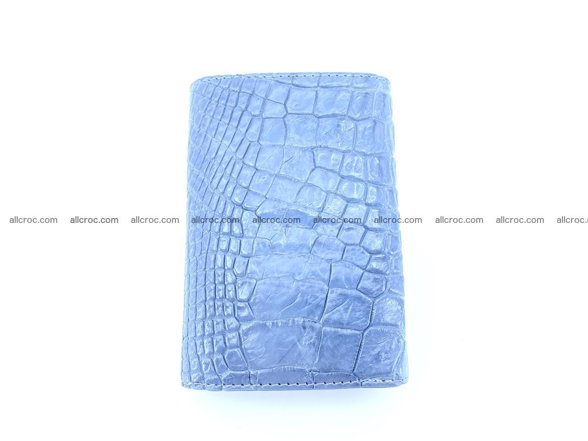 Genuine Siamese crocodile skin wallet for women 414 Foto 3