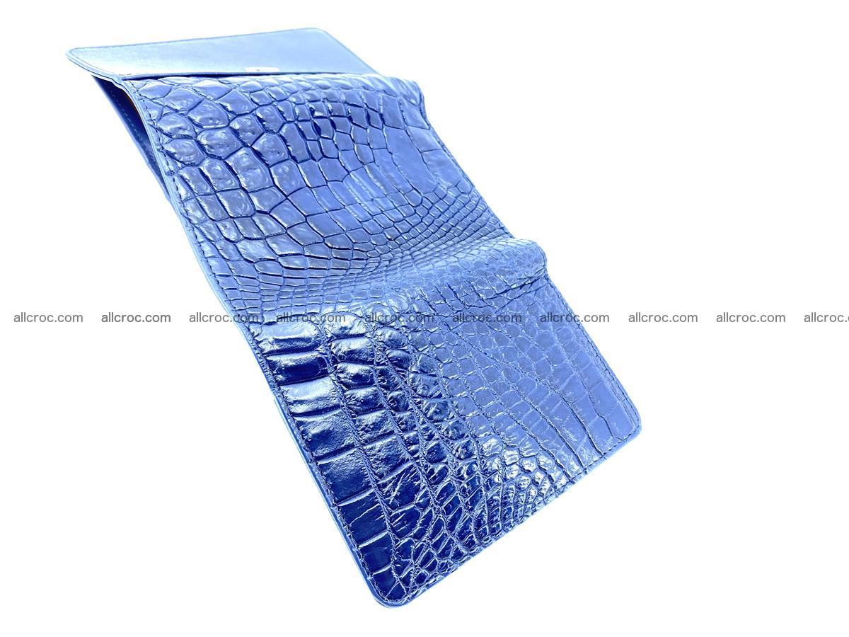 Genuine Siamese crocodile skin wallet for women 417 Foto 8