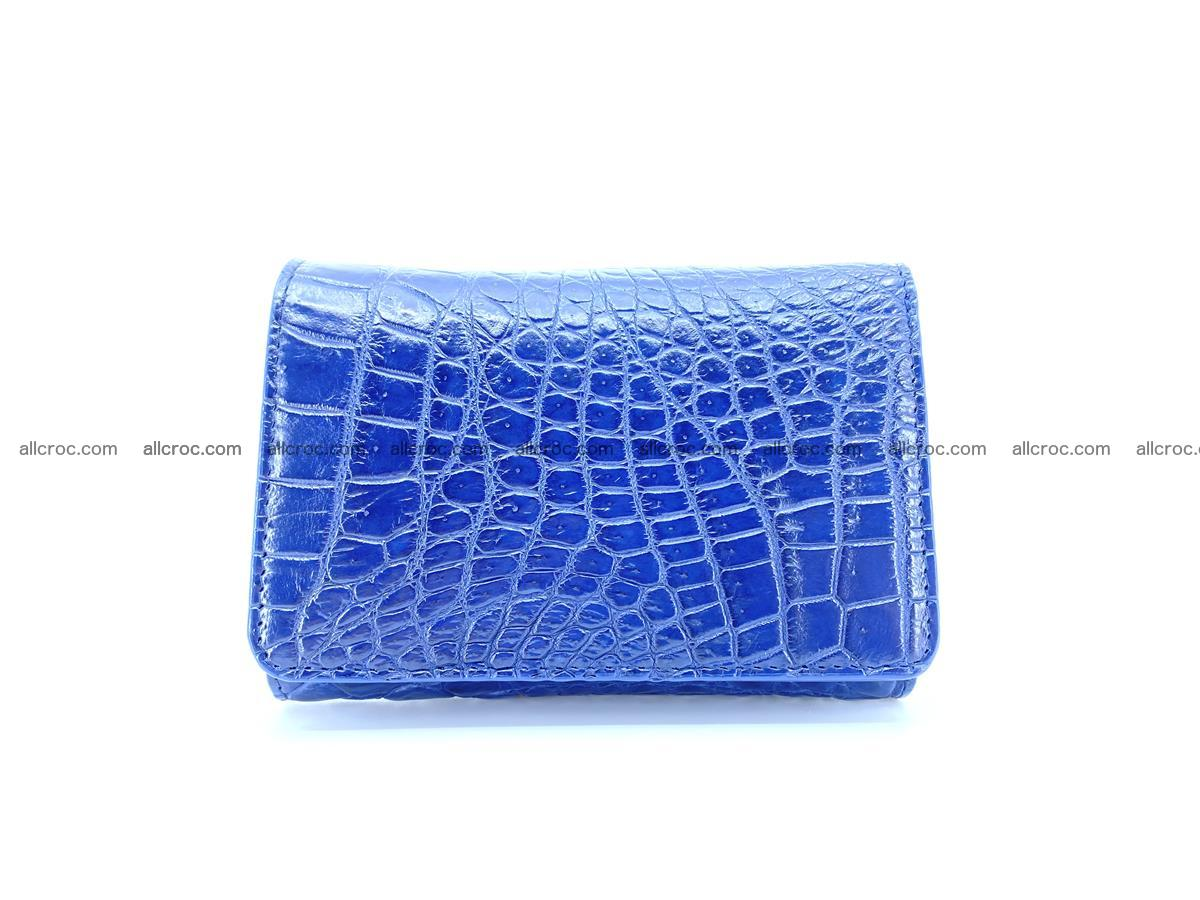Genuine Siamese crocodile skin wallet for women 417 Foto 0