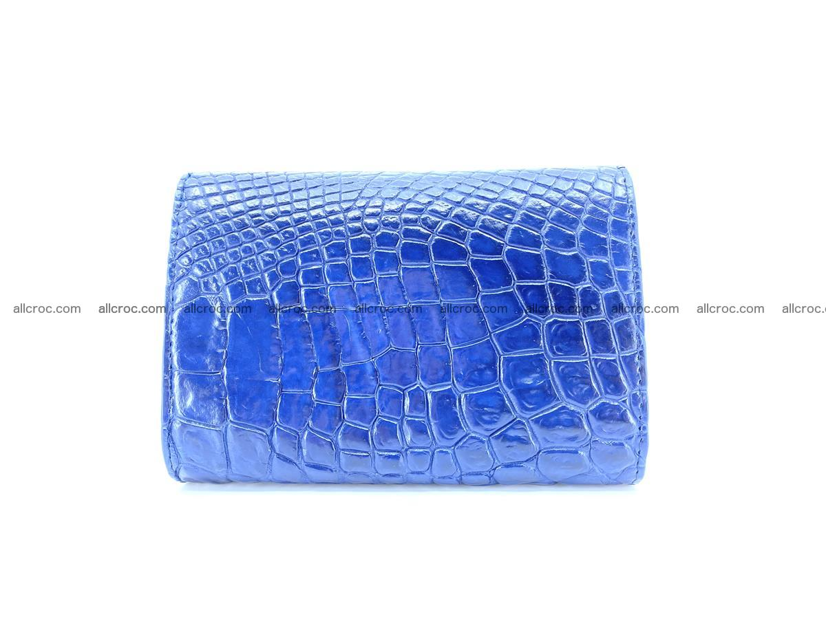 Genuine Siamese crocodile skin wallet for women 417 Foto 1