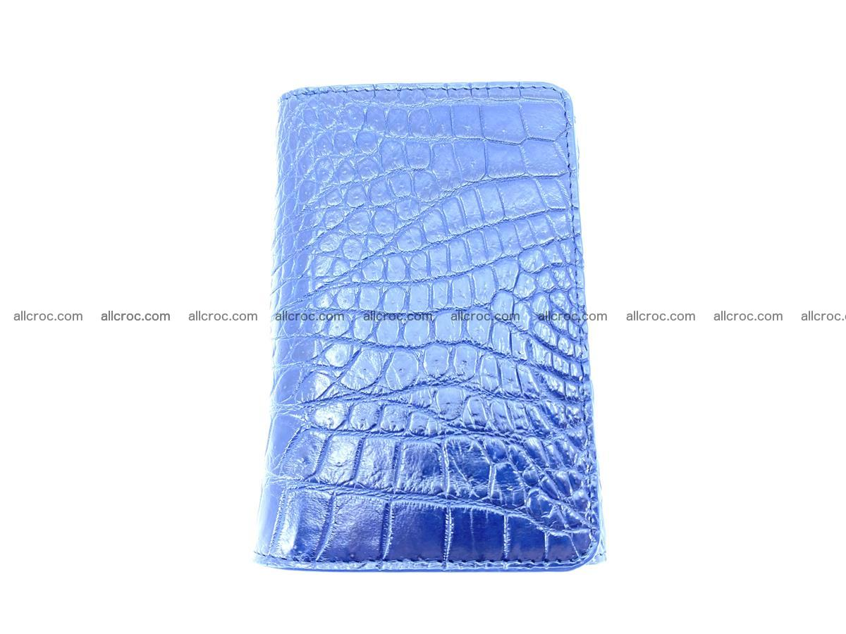 Genuine Siamese crocodile skin wallet for women 417 Foto 2