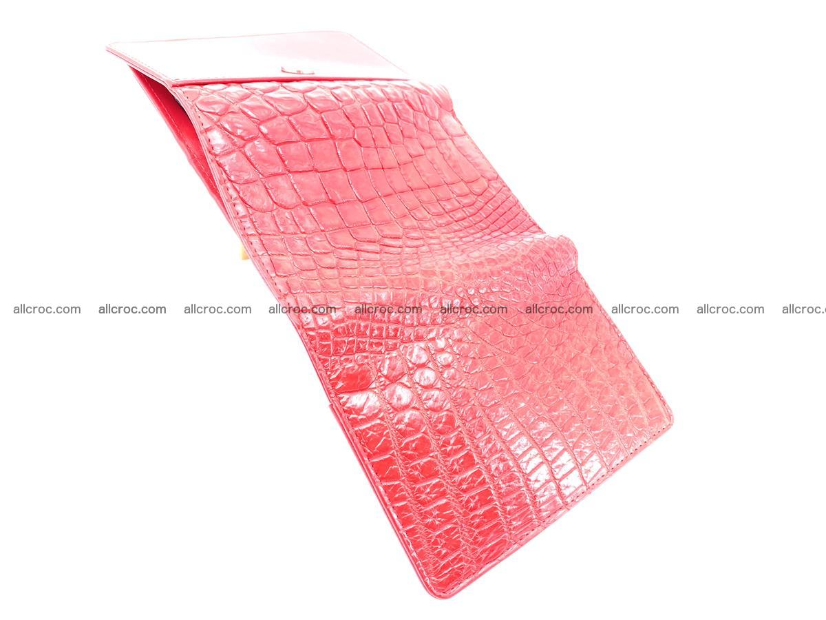 Genuine Siamese crocodile skin wallet for women 418 Foto 7