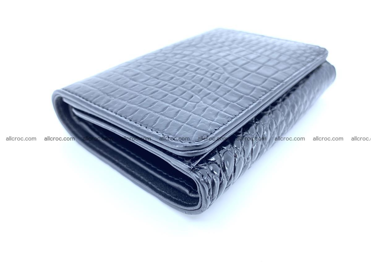 Genuine Siamese crocodile skin wallet for women 419 Foto 5