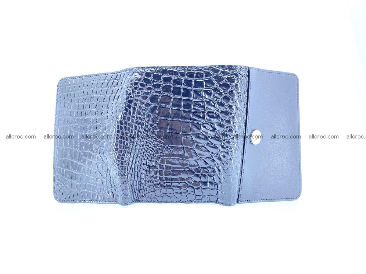 Genuine Siamese crocodile skin wallet for women 419 Foto 10