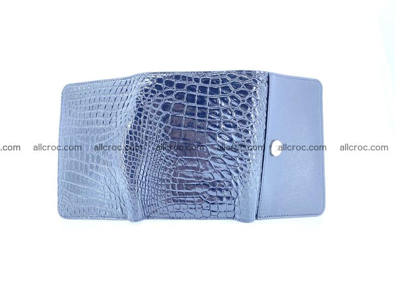 Genuine Siamese crocodile skin wallet for women 419