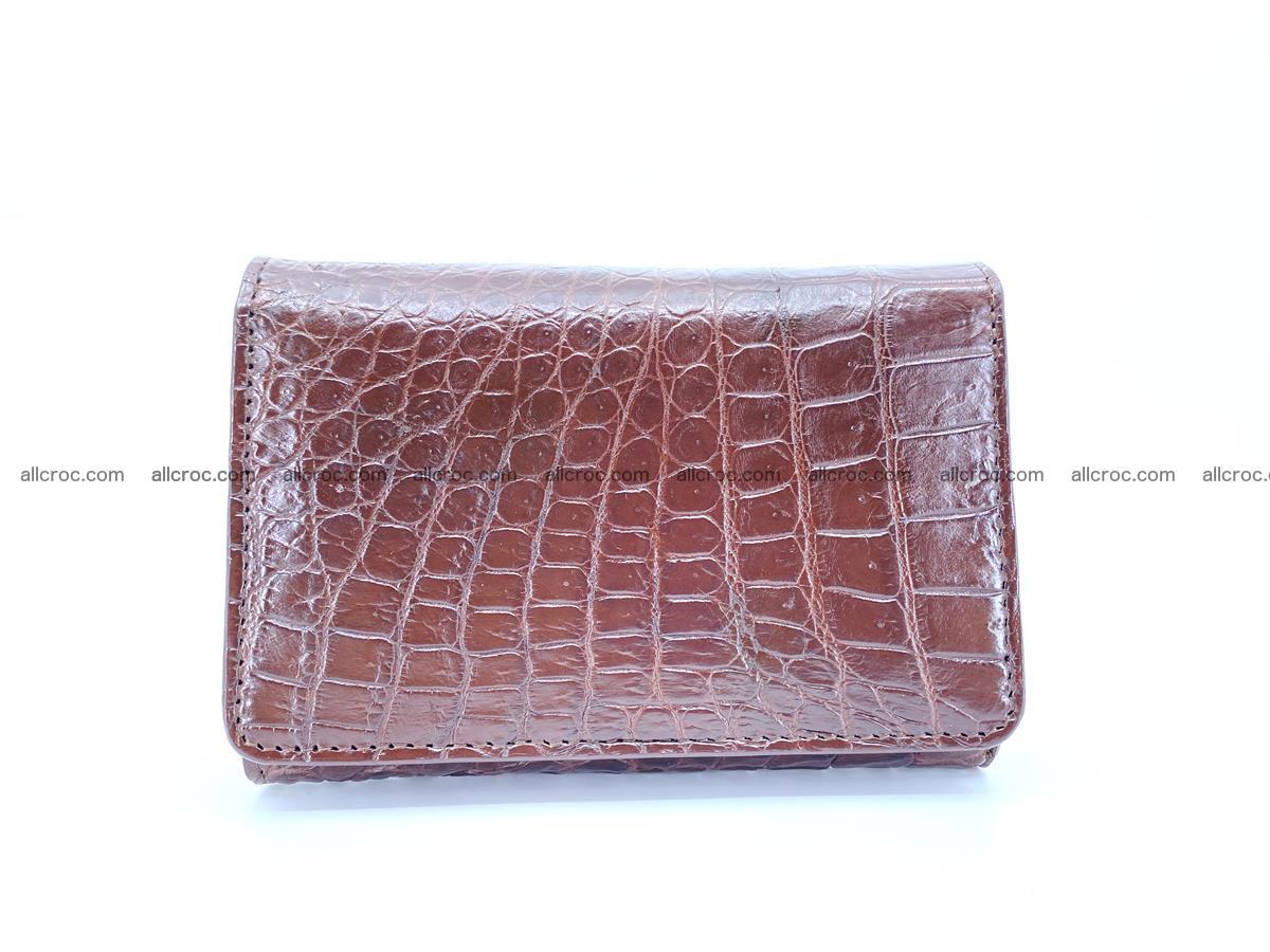 Genuine Siamese crocodile skin wallet for women 416 Foto 0