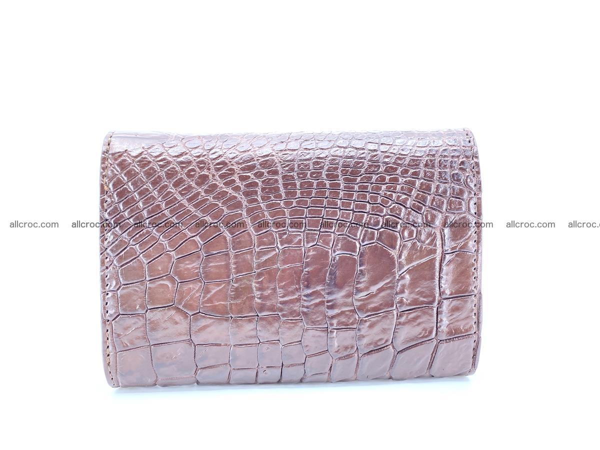 Genuine Siamese crocodile skin wallet for women 416 Foto 1