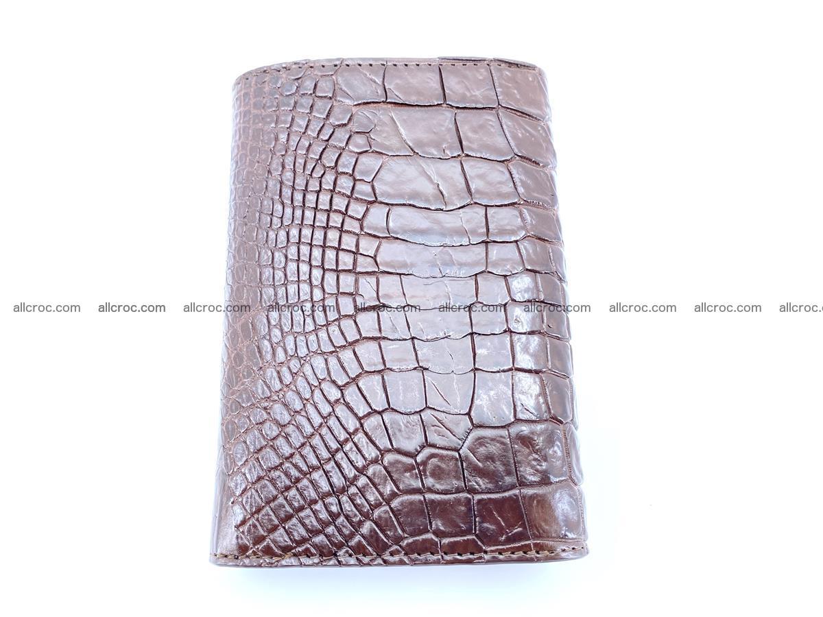 Genuine Siamese crocodile skin wallet for women 416 Foto 3