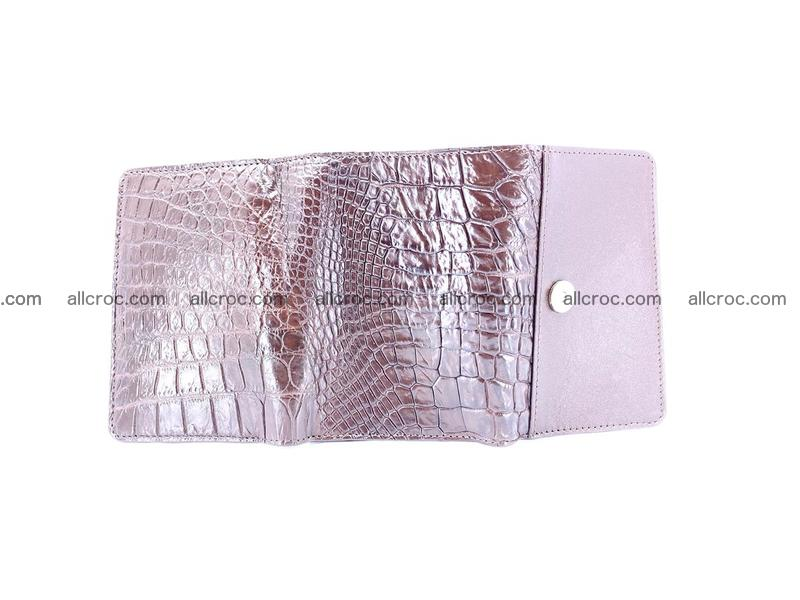 Genuine Siamese crocodile skin wallet for women 416