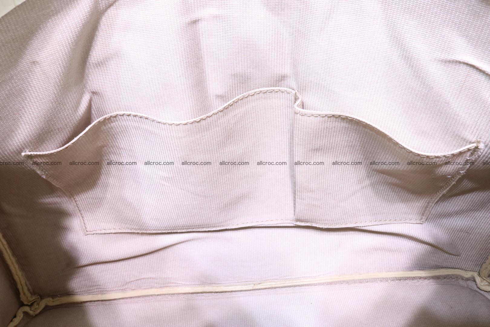 Handbag for lady from cobra skin copy of Birkin with cobra head 191 Foto 14