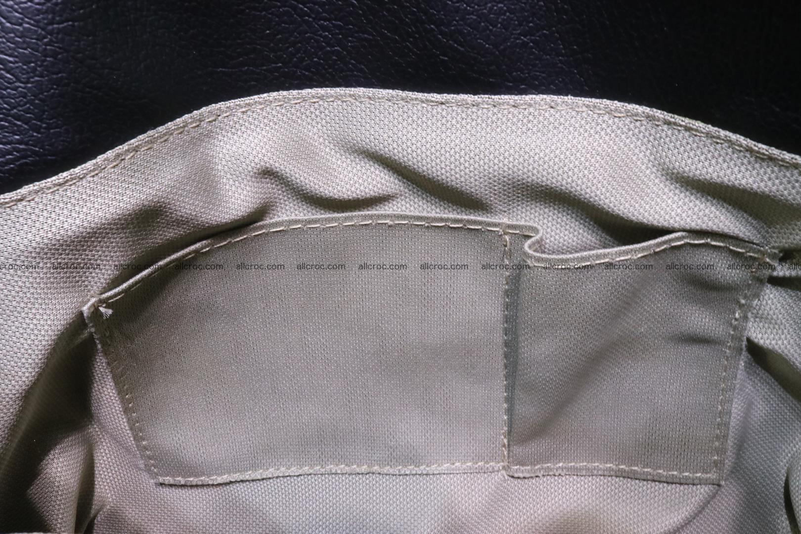 Handbag for lady from cobra skin with cobra head 189 Foto 13
