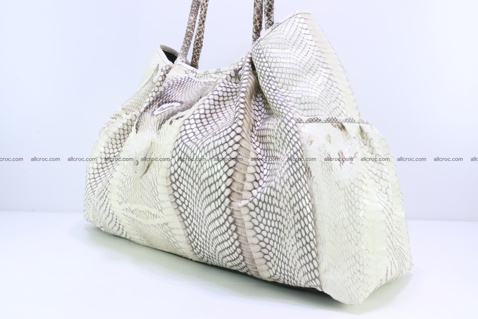 Handbag for lady from cobra skin with cobra head 168 Foto 6