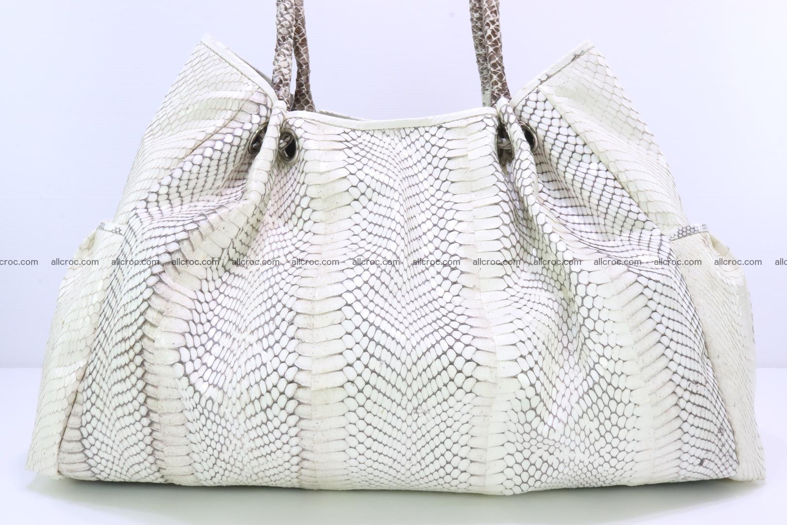 Handbag for lady from cobra skin with cobra head 168 Foto 8
