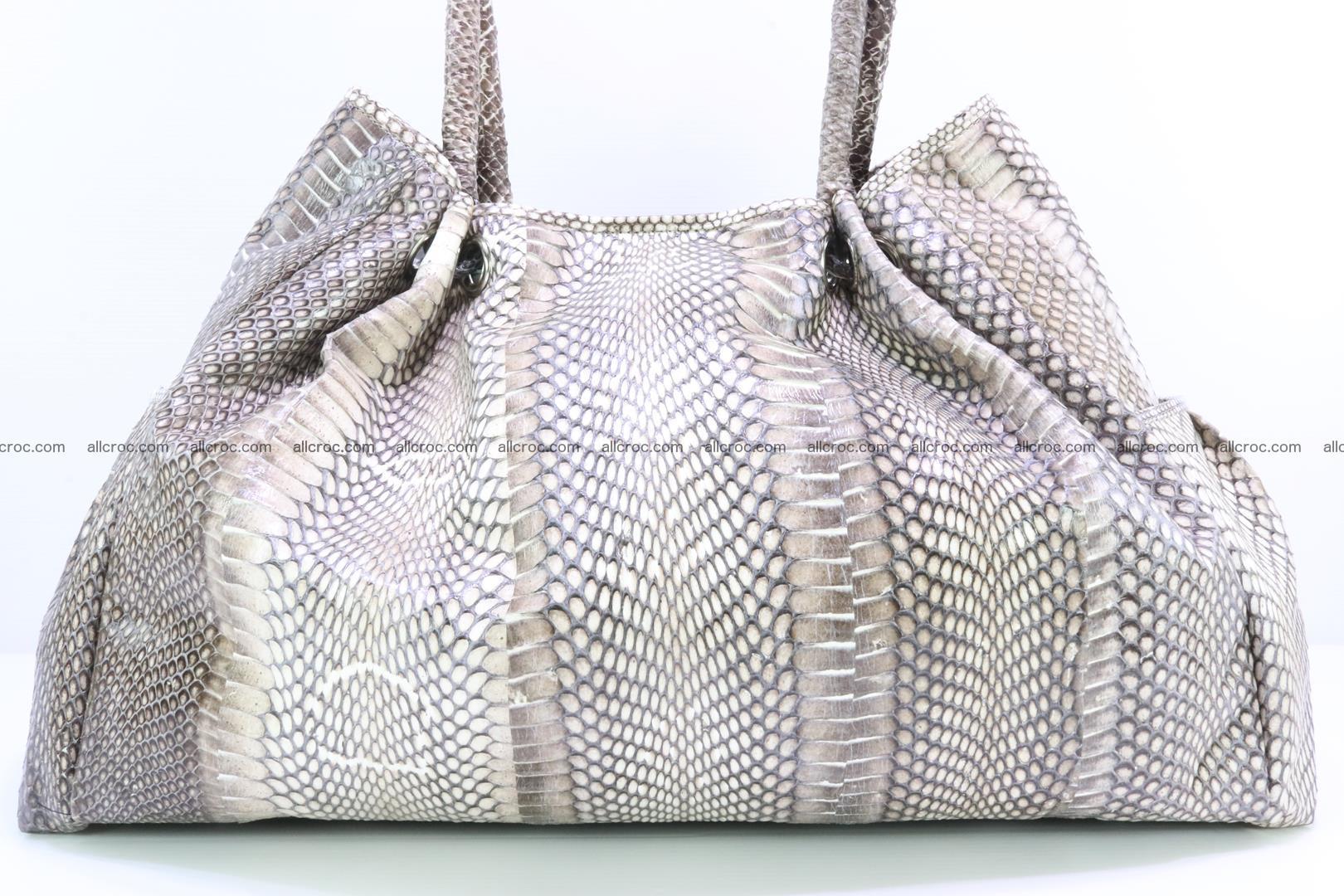 Handbag for lady from cobra skin with cobra head 169 Foto 8