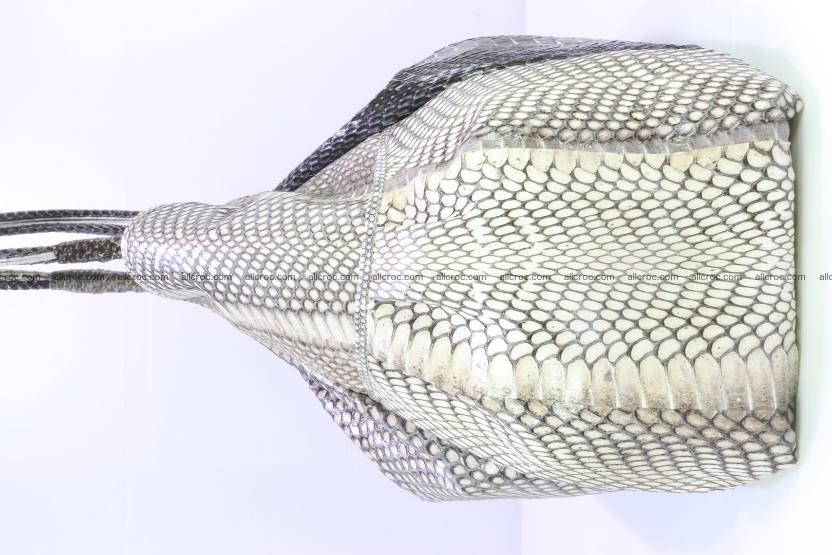 Handbag for lady from cobra skin with cobra head 169 Foto 9