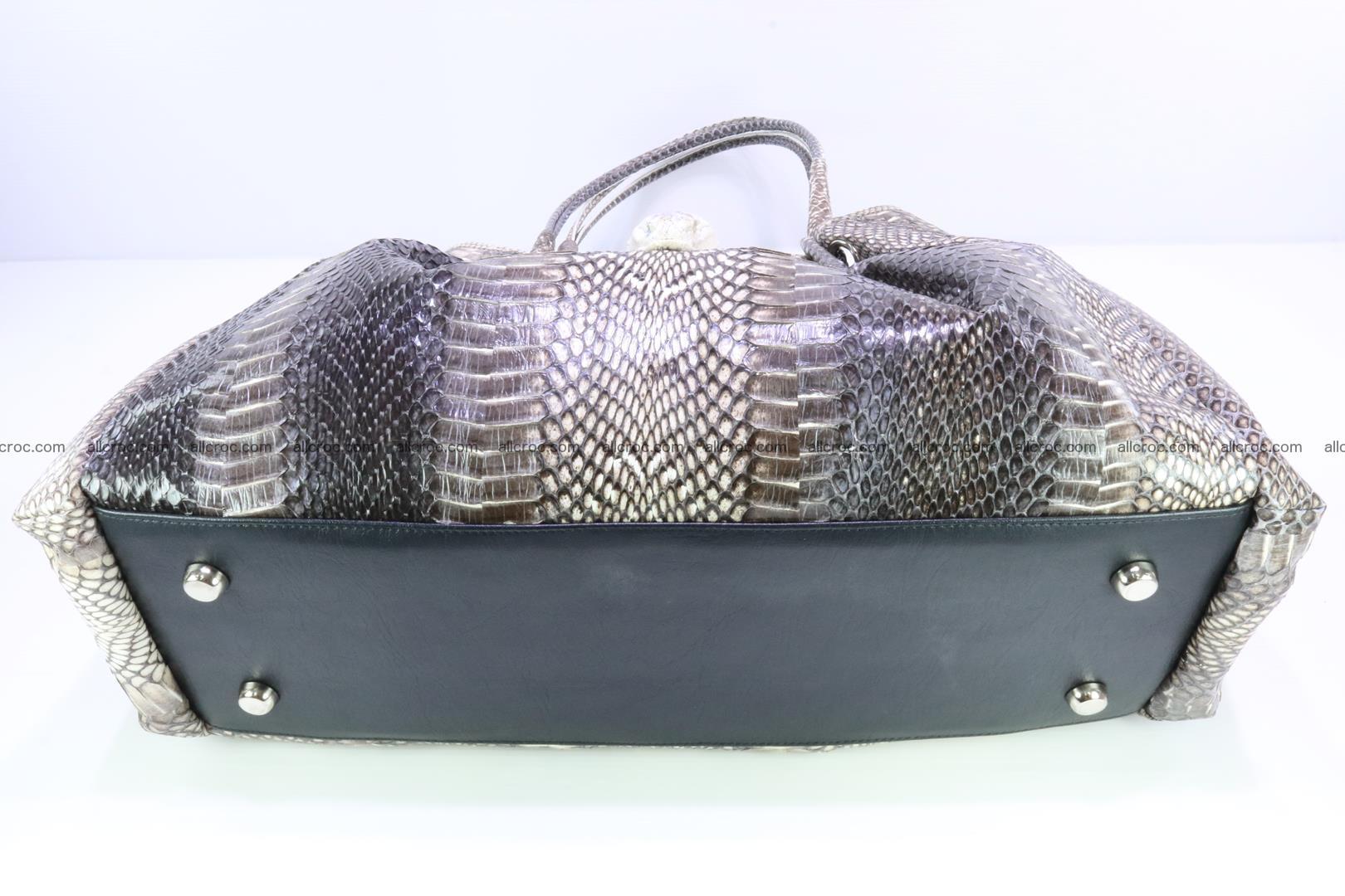 Handbag for lady from cobra skin with cobra head 169 Foto 12