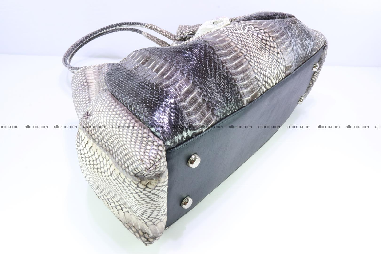 Handbag for lady from cobra skin with cobra head 169 Foto 13