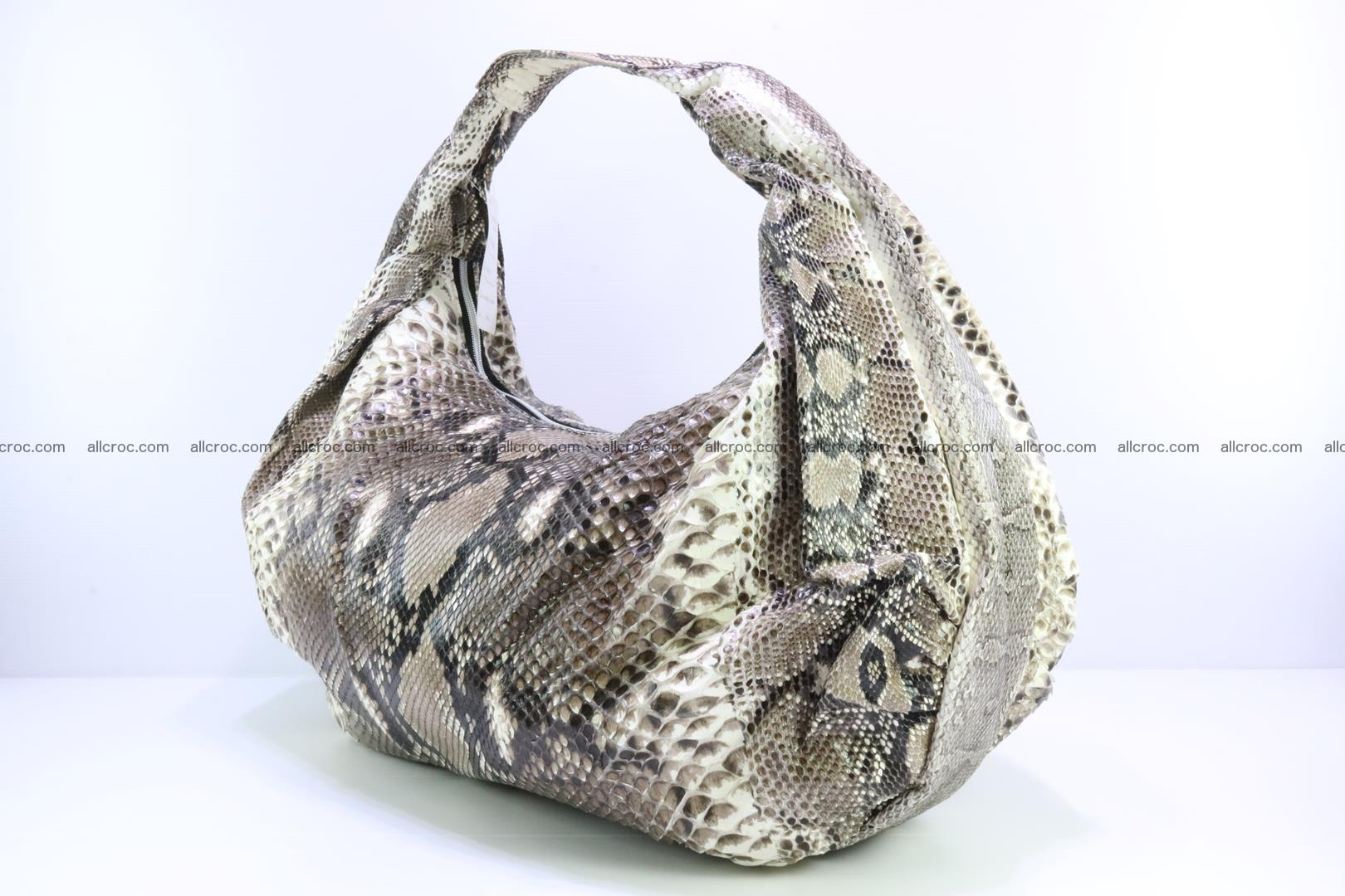 Handbag for women from genuine python skin 212 Foto 2