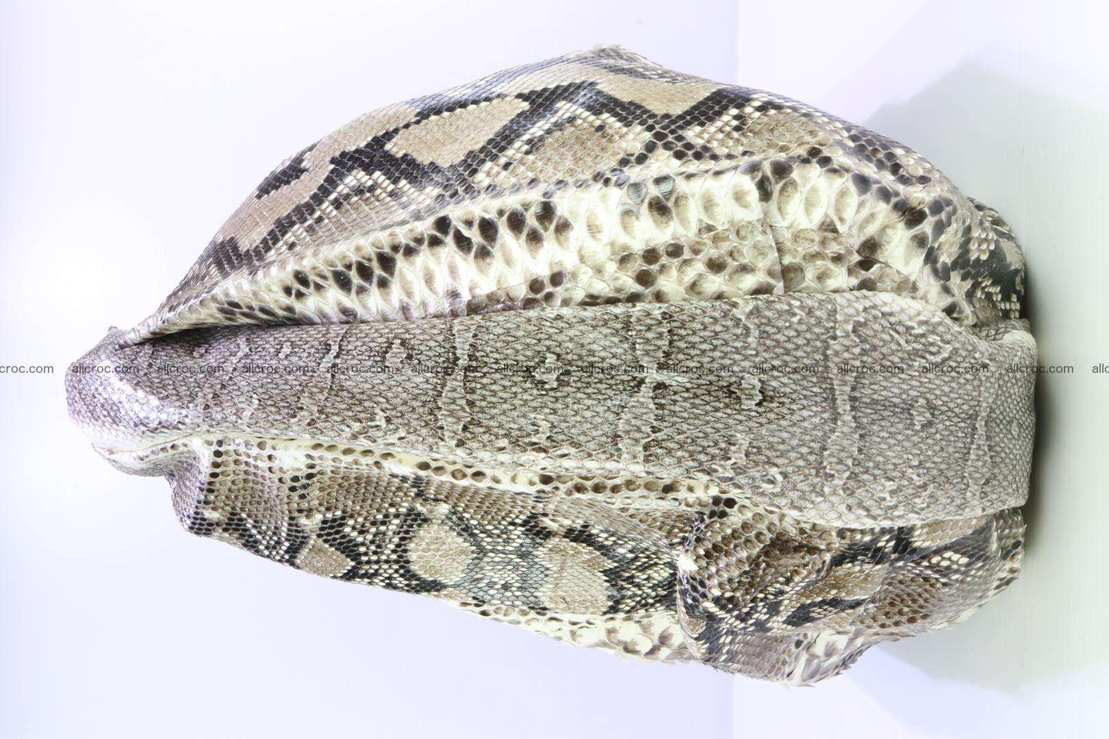 Handbag for women from genuine python skin 212 Foto 3