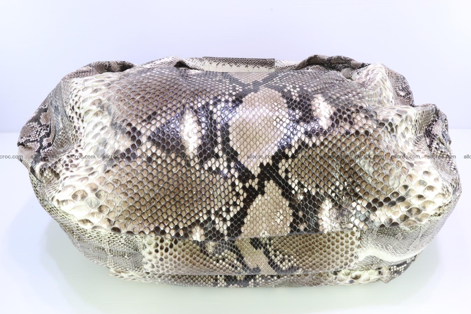 Handbag for women from genuine python skin 212 Foto 5