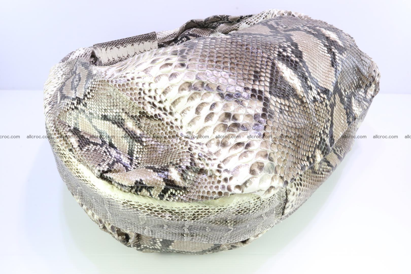 Handbag for women from genuine python skin 212 Foto 6