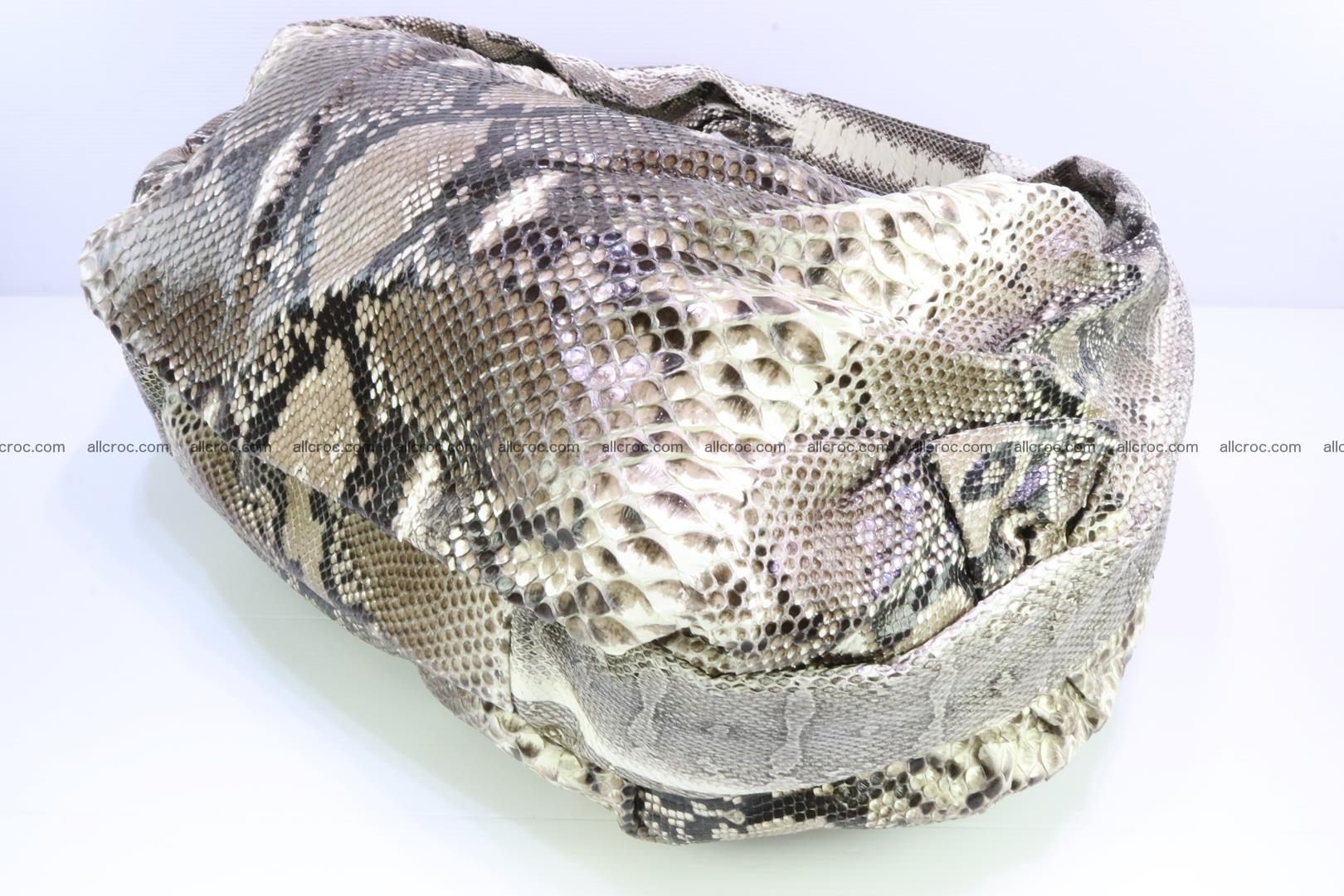Handbag for women from genuine python skin 212 Foto 7