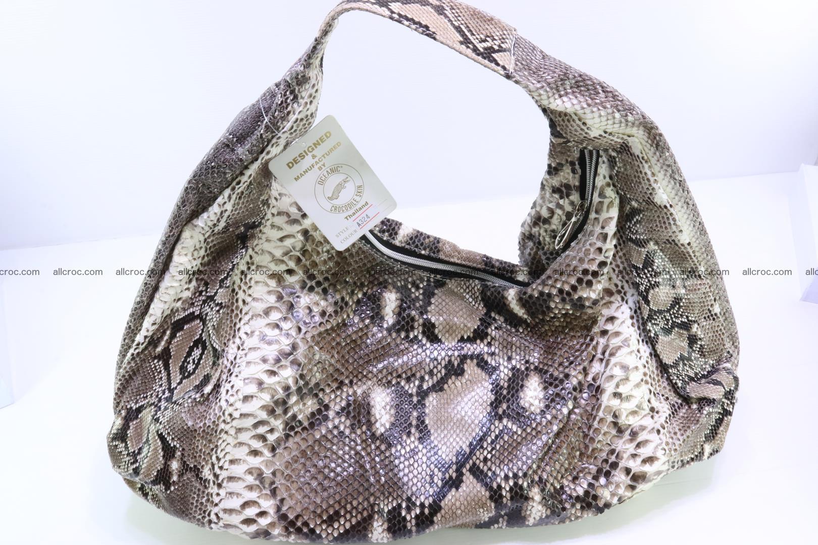 Handbag for women from genuine python skin 212 Foto 11
