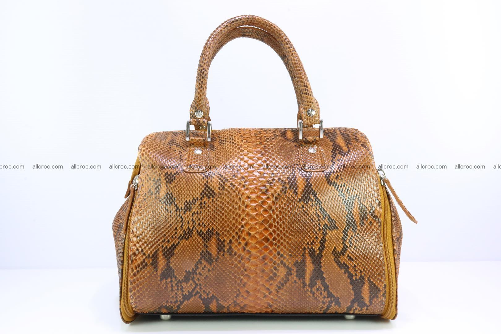 Handbag for women from genuine python skin 213 Foto 0