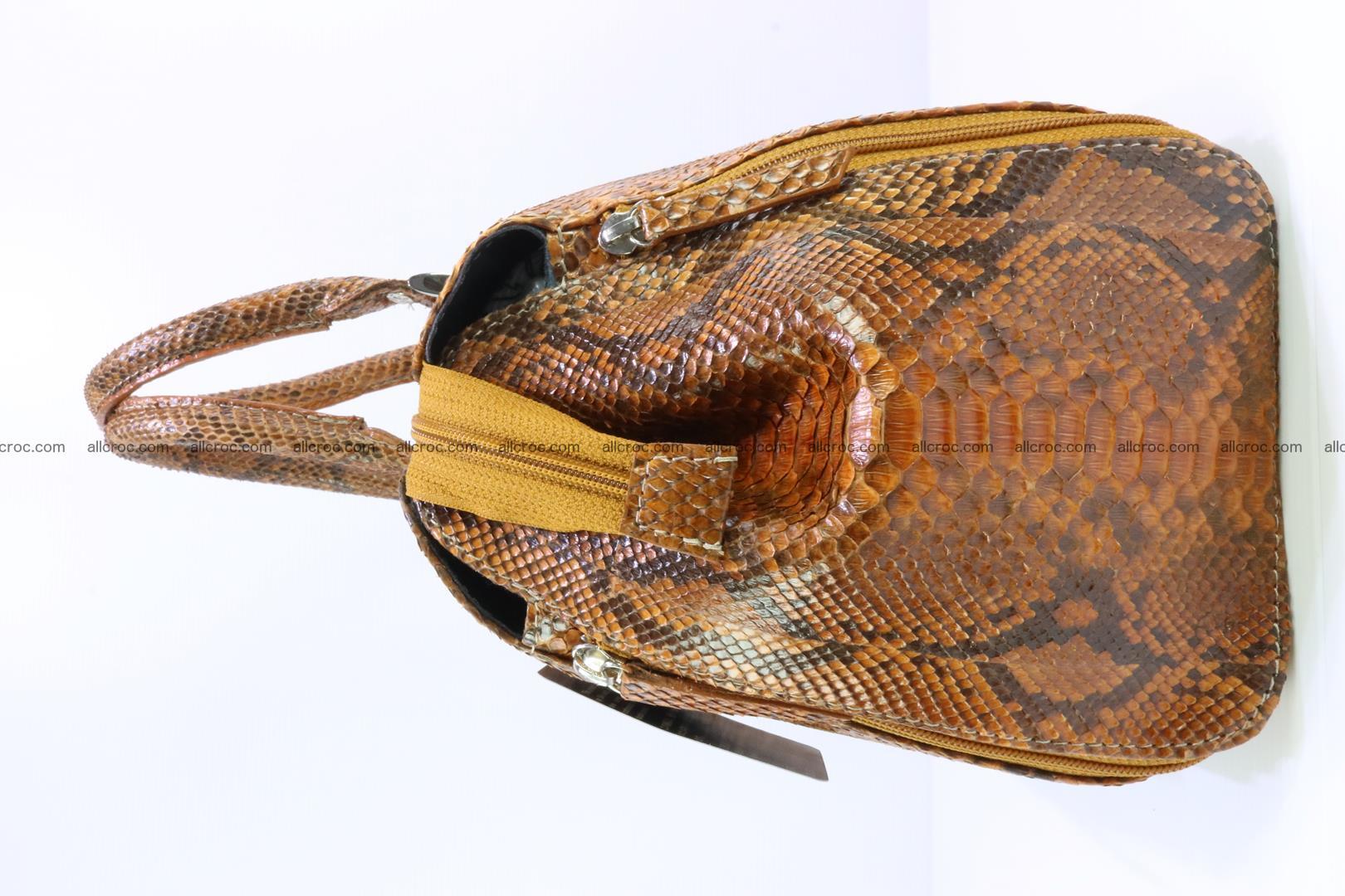 Handbag for women from genuine python skin 213 Foto 3