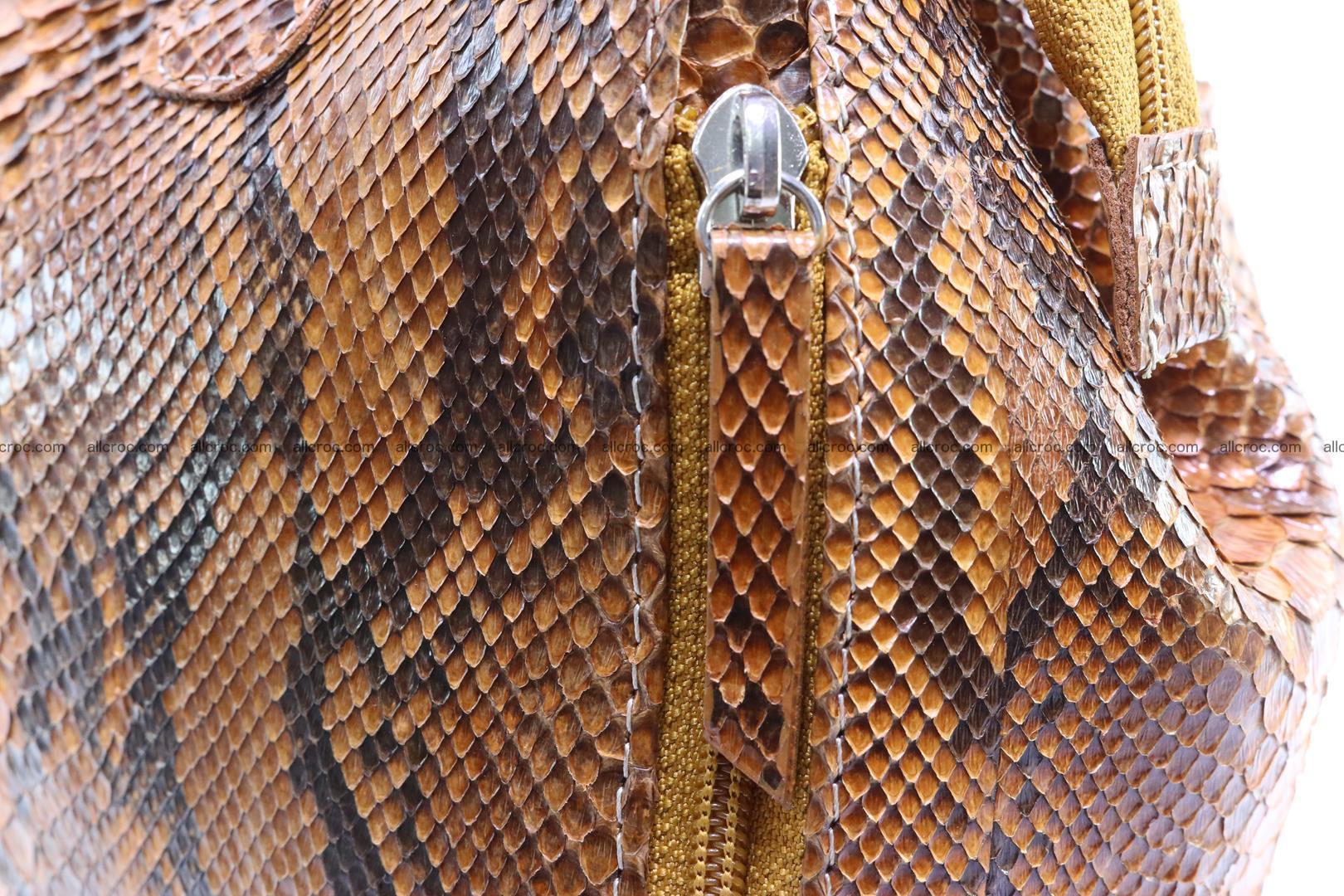 Handbag for women from genuine python skin 213 Foto 6