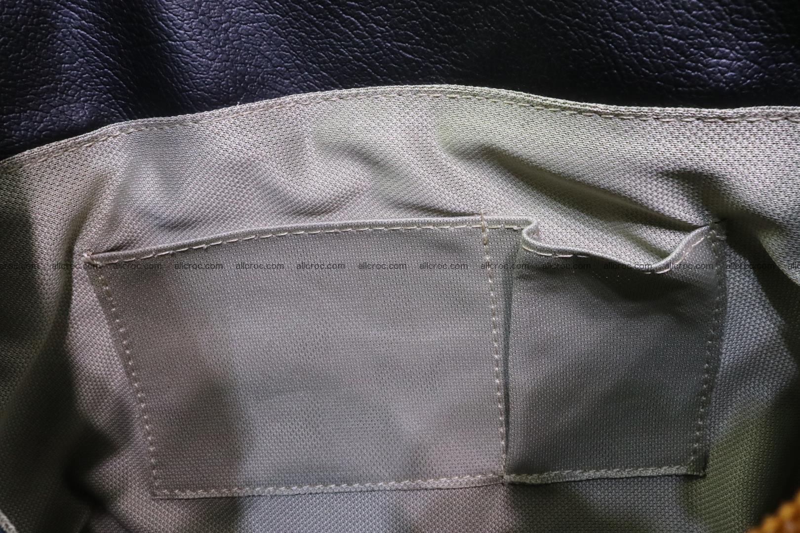 Handbag for women from genuine python skin 213 Foto 13