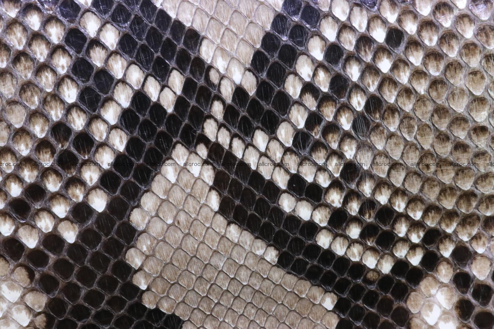 Handbag for women from genuine python skin 215 Foto 6