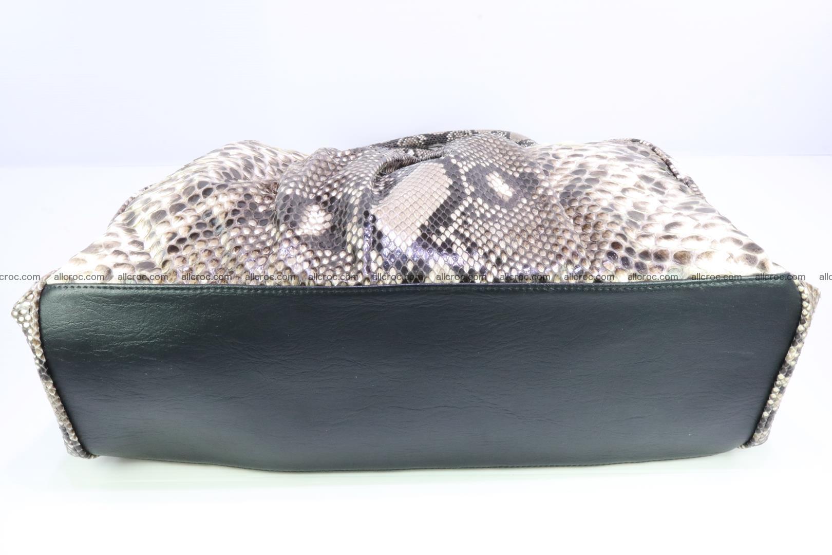 Handbag for women from genuine python skin 215 Foto 8