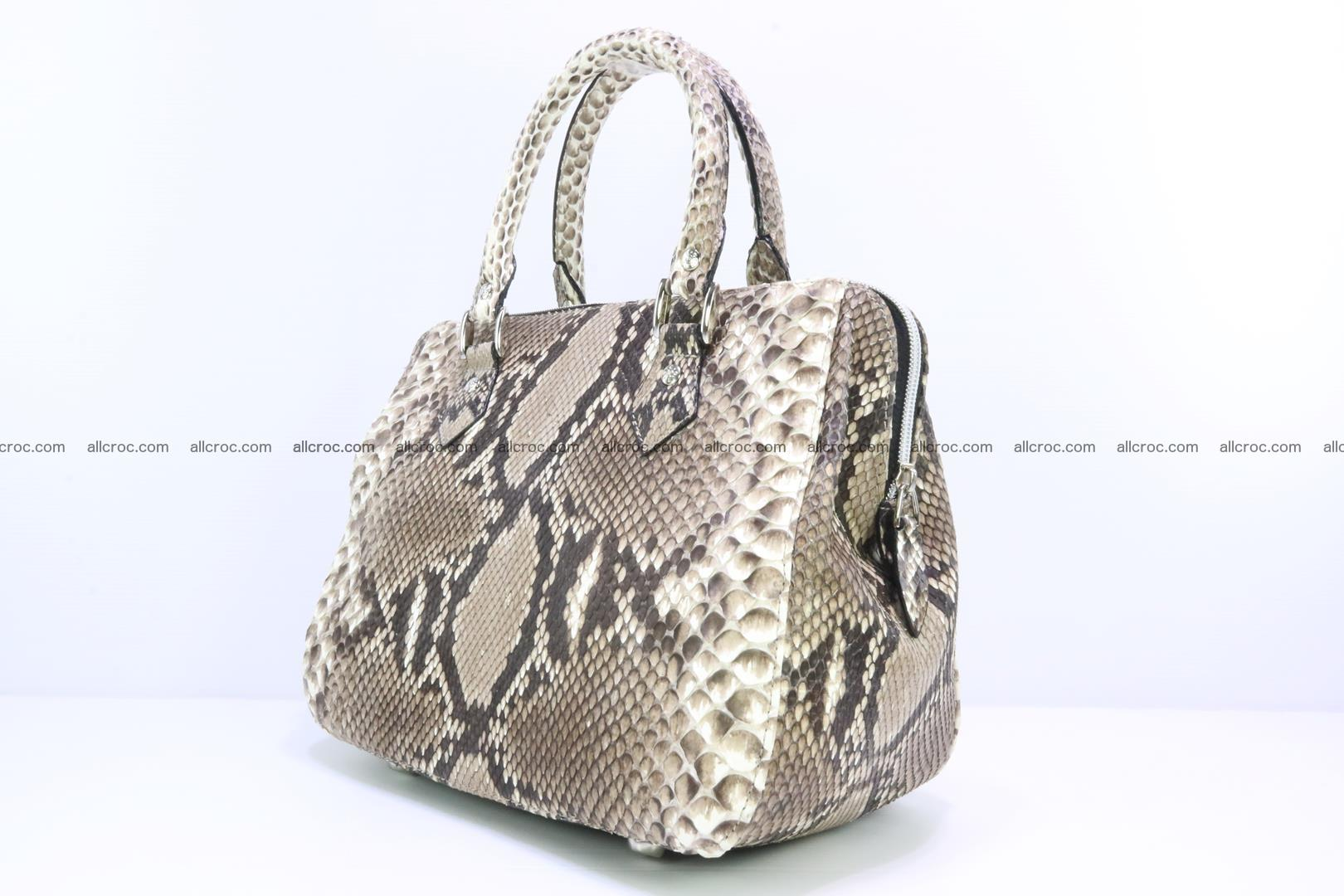Handbag for women from genuine python skin 216 Foto 2